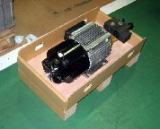 成型機ユニットの木枠からの合理化包装