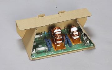 ダイレクトボックス電子基板 内外装一体型包装