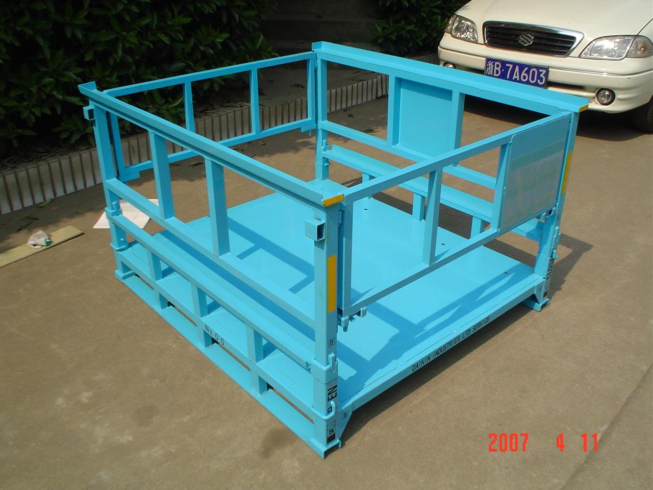 中国でスチールラックの生産開始 アイロップ株式会社