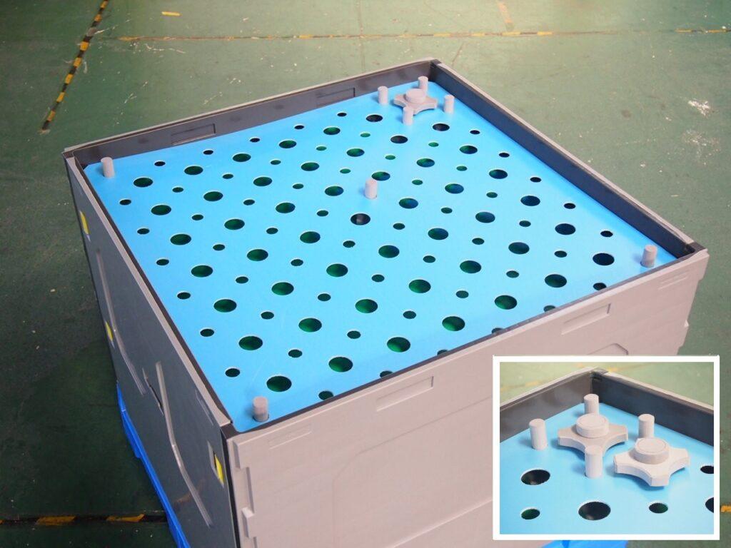 コンパレッター 大型プラスチックコンテナ